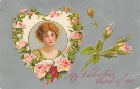 val310015 - John Winsch Publishing Silk Finish St. Valentines Day Postcard