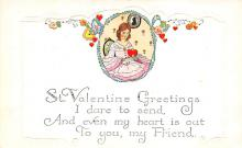 val310029 - Old Valentines Day Post Card