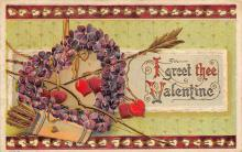 val310031 - Old Valentines Day Post Card