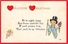 val310035 - Old Valentines Day Post Card