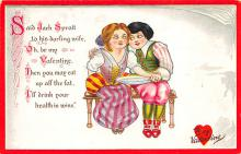val310053 - Raphael Tuck & Sons Publishing Old Valentines Day Post Card