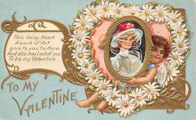 val310063 - Vintage Valentines Day Postcard