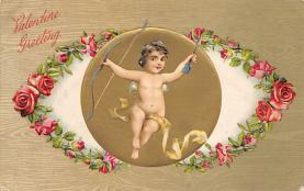 val310065 - Vintage Valentines Day Postcard