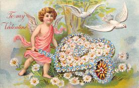 val310067 - Vintage Valentines Day Postcard