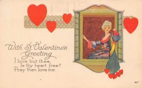 val310069 - Vintage Valentines Day Postcard