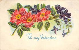 val310071 - Vintage Valentines Day Postcard