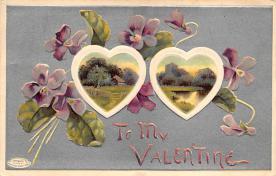 val310073 - Vintage Valentines Day Postcard