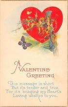 val310077 - Vintage Valentines Day Postcard