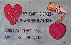 val310079 - Artist A. E. Avery  Vintage Valentines Day Postcard