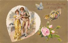 val310081 - John Winsch Publishing Vintage Valentines Day Postcard