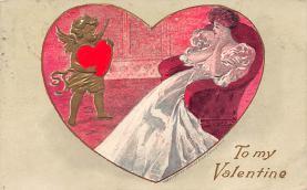 val310089 - Vintage Valentines Day Postcard