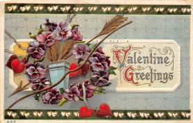 val310091 - Vintage Valentines Day Postcard