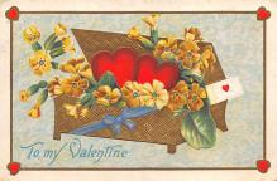 val310093 - Vintage Valentines Day Postcard