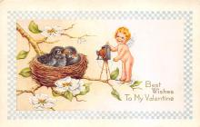 val310097 - Whitney Made Vintage Valentines Day Postcard