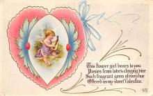 val310101 - Antique Valentines Day Postcard