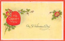 val310105 - Antique Valentines Day Postcard