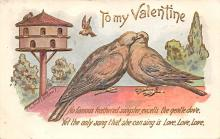 val310111 - Artist Fred C. Lounsbury Antique Valentines Day Postcard