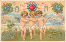 val310121 - Antique Valentines Day Postcard