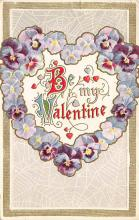 val310123 - Antique Valentines Day Postcard