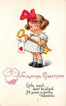 val310127 - Antique Valentines Day Postcard