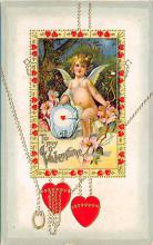 val310129 - Antique Valentines Day Postcard