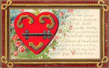 val310141 - Antique Valentines Day Postcard