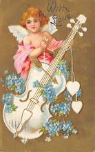 val310147 - Antique Valentines Day Postcard