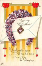 val310153 - John Winsch Publishing Antique Valentines Day Postcard
