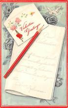 val310161 - Antique Valentines Day Postcard