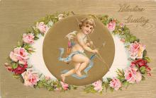val310165 - Antique Valentines Day Postcard
