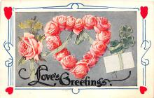 val310167 - Antique Valentines Day Postcard