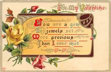 val310169 - Antique Valentines Day Postcard