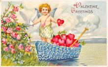 val310191 - Antique Valentines Day Postcard