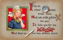 val310213 - Raphael Tuck & Sons Publishing St. Valentines Day Postcard