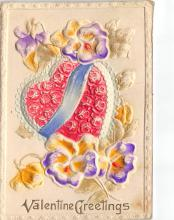 val310215 - Embossed St. Valentines Day Postcard