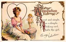 val310235 - Reproduction St. Valentines Day Postcard
