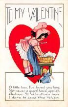 val310319 - Whitney Made St. Valentines Day Postcard