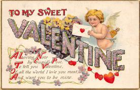 val310329 - St. Valentines Day Postcard
