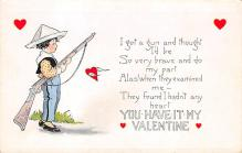 val310339 - Whitney Made St. Valentines Day Postcard