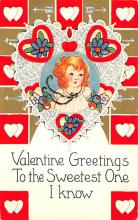 val310377 - Whitney Made St. Valentines Day Postcard