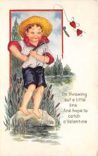 val310401 - Whitney Made St. Valentines Day Postcard