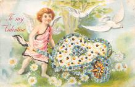 val310421 - St. Valentines Day Postcard