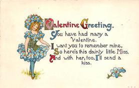 val310457 - St. Valentines Day Postcard