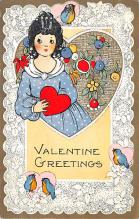 val310487 - Whitney Made St. Valentines Day Postcard