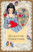 val310497 - Whitney Made St. Valentines Day Postcard