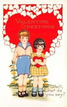 val310503 - Whitney Made St. Valentines Day Postcard