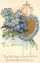 val310509 - St. Valentines Day Postcard