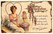 val310521 - Reproduction St. Valentines Day Postcard