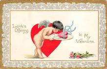 val310525 - Raphael Tuck & Sons Publishing St. Valentines Day Postcard
