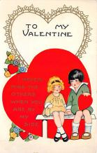 val310537 - Whitney Made St. Valentines Day Postcard